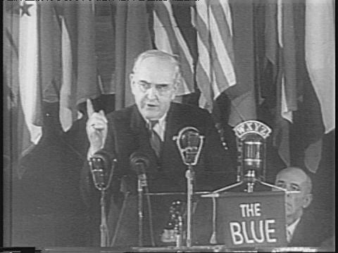 US Senator Arthur Vanderberg