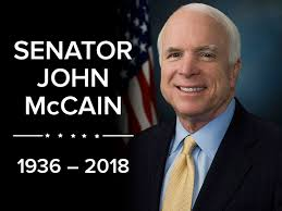 Senator John McCain 1936 to 2018