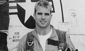 John McCain in military service