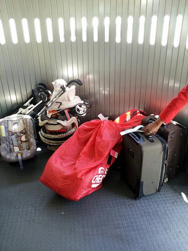 Luggage on the Air Bridge