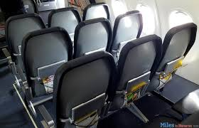Tight seats on Spirit Airlines