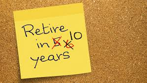 Note about retirement