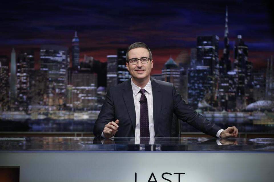 John Oliver on the air